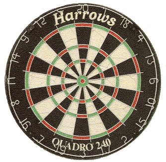 Harrows Quadro 240 Dartboard