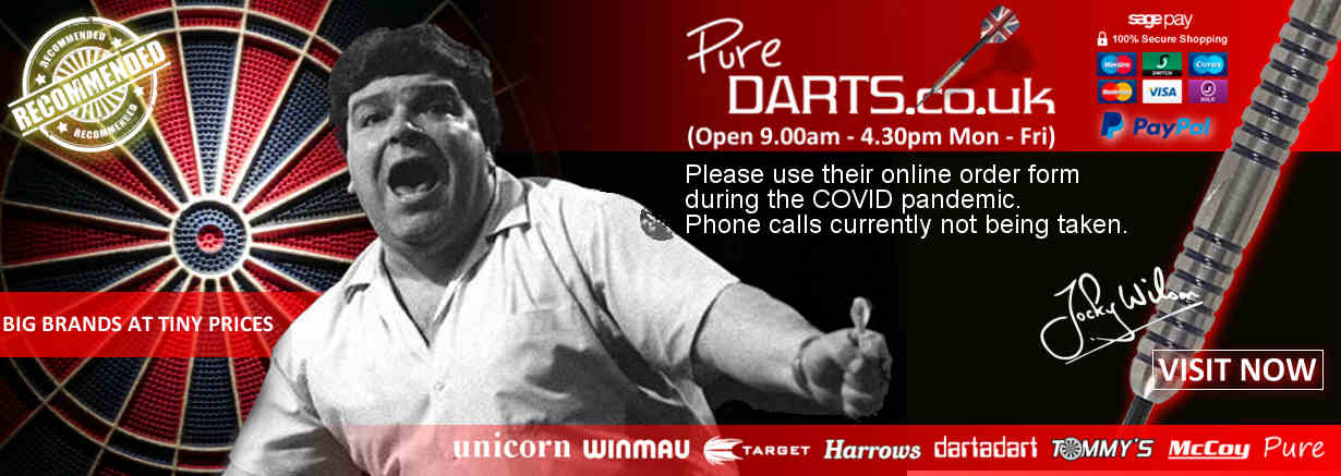 Pure Darts - Darts Suppliers online shop - Players Darts