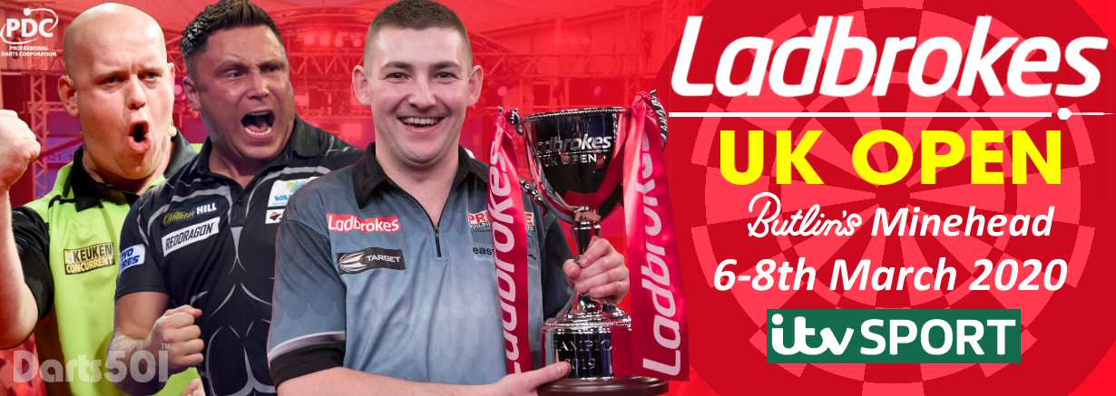 PDC Ladbrokes UK Open 6-8th March 2020
