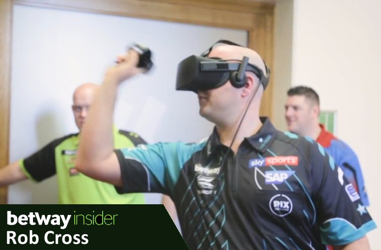 Rob Cross VR Darts