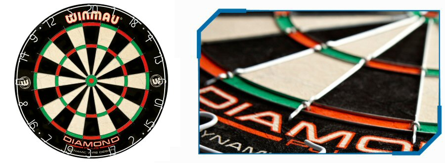 Winmau Diamon Wir Dartboards