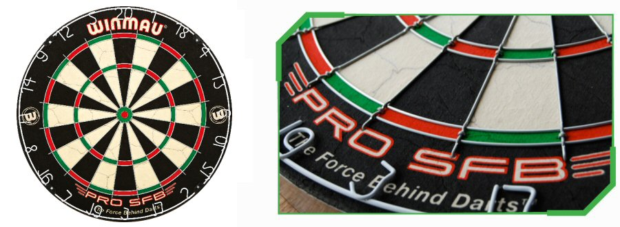 Winmau Round Wire Dartboards