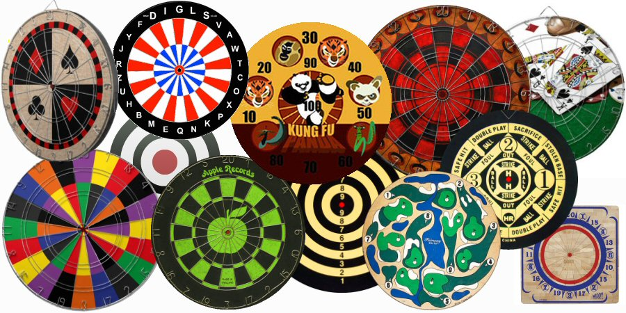 Various Dartboards