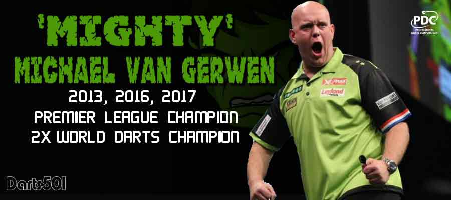 MVG -Michael van Gerwen Premier League 2018