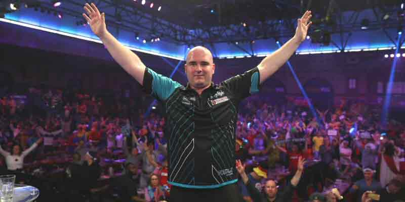Rob Cross 2018 PDC World Darts Champion