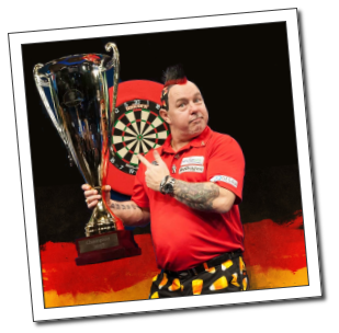 Peter WRight - World Series of Darts - German Masters Winner