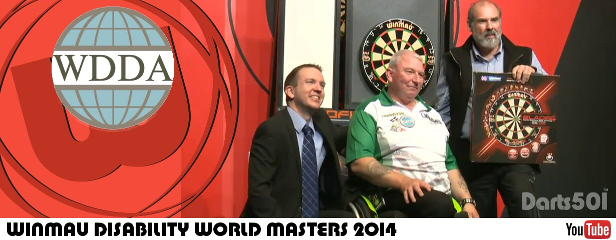 WDDA Winmau Disability Masters 2015 YouTube Video Link