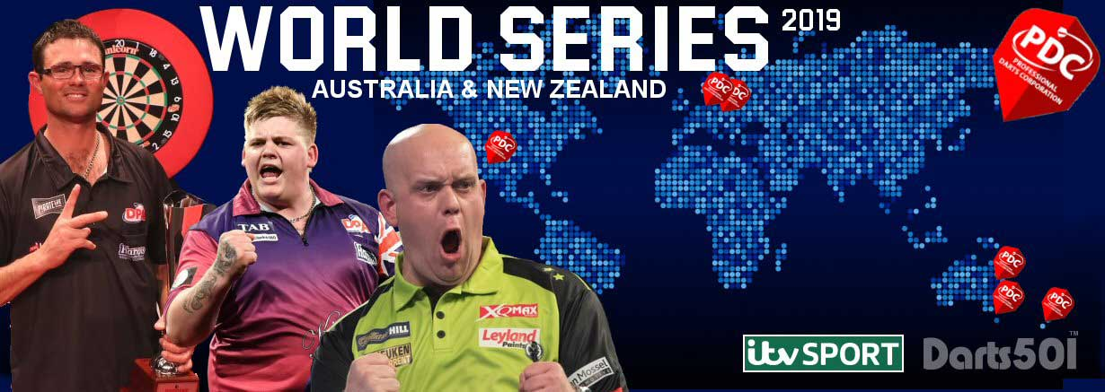 PDC World Series, Brisbane, Melbourne, New Zealnad Masters